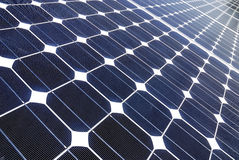Sonnenkollektoren Lizenzfreies Stockbild
