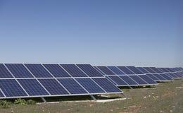 Sonnenkollektoren Lizenzfreie Stockbilder