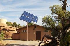 Sonnenkollektoren Lizenzfreies Stockfoto