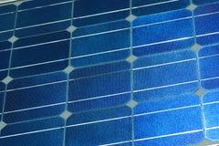 Sonnenkollektoroberfläche Stockbild