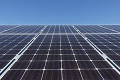 Sonnenkollektorsatz Stockfotos
