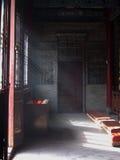 Sonnenlicht im Tempel der acht Unsterblichen Xian Stockfotografie