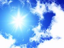 Sonnenschein Stockbild