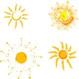 Sonnenschein freundlicher Sun Stockfotos