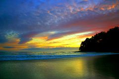 Sonnenschein-Küste, Australien lizenzfreies stockbild