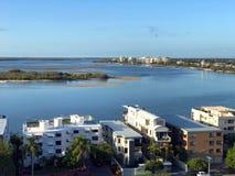 Sonnenschein-Küstentourismus Stockfoto