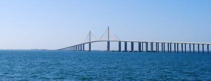Sonnenschein Skyway Brücke Lizenzfreie Stockbilder