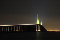 Sonnenschein Skyway Brücke, Florida Lizenzfreie Stockbilder