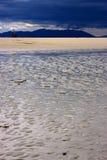Sonnenschirm im Strand Stockfotos
