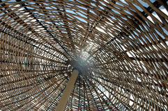 Sonnenschirm-Nahaufnahme Stockbild