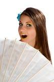 Sonnenschirm und Süßigkeit Lizenzfreie Stockbilder