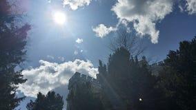 Sonnenstrahlen Lizenzfreie Stockbilder