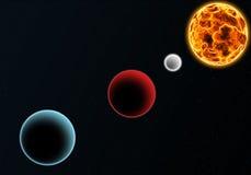 Sonnensystem Stockbilder