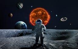 Sonnensystem- und Raumgegenstände Elemente dieses Bildes geliefert von der NASA stockfotografie