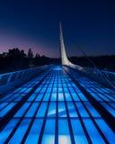 Sonnenuhr-Brücke Stockfotos