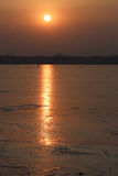 Sonnenuntergänge Lizenzfreies Stockbild