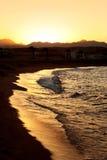 Sonnenuntergang in Ägypten Stockfoto