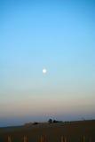 Sonnenuntergang über dem Strand Lizenzfreie Stockfotografie