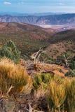 Sonnenuntergang über Sierra Nevada lizenzfreie stockfotos