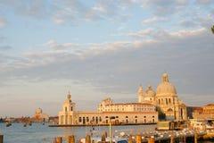 Sonnenuntergang über Venedig lizenzfreie stockfotografie
