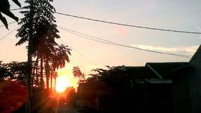 Sonnenuntergang Lizenzfreies Stockfoto
