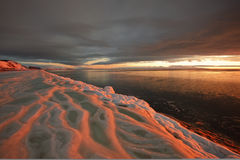 ? Sonnenuntergang Lizenzfreies Stockfoto