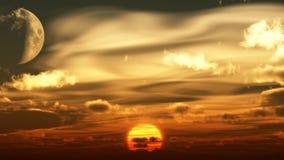 Sonnenuntergang Imágenes de archivo libres de regalías