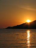 Sonnenuntergang. Stockfotografie