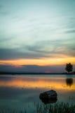 Sonnenuntergang 6 Lizenzfreie Stockfotografie