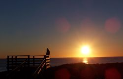 Sonnenuntergang 4 lizenzfreie stockfotografie