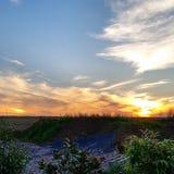 Sonnenuntergang Стоковые Изображения