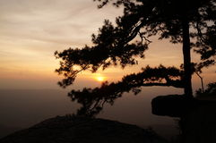 Sonnenuntergang - 2 Stockfotos