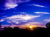 Sonnenuntergang Stockfoto