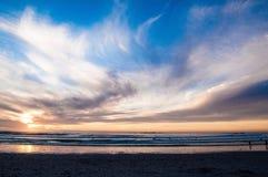 Sonnenuntergang 1 Lizenzfreie Stockfotografie