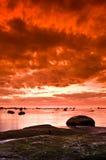 Sonnenuntergang lizenzfreie stockfotos