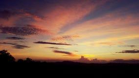 Sonnenuntergang Lizenzfreie Stockbilder