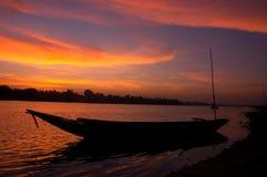 Sonnenuntergang. Lizenzfreie Stockfotografie