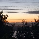 Sonnenuntergang Стоковая Фотография RF