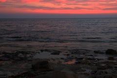 Sonnenuntergang 2 Stockfoto