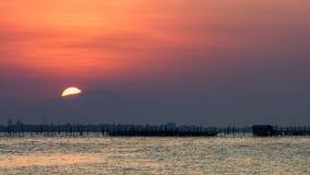 Sonnenuntergang auf Berg 2 Lizenzfreie Stockfotos