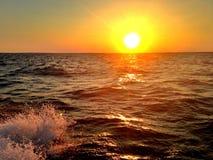 Sonnenuntergang auf Cape Cod Lizenzfreies Stockfoto