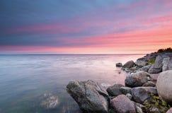 Sonnenuntergang auf der Bucht des Kobolds Lizenzfreie Stockbilder
