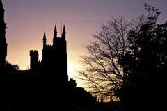 Sonnenuntergang auf der königlichen Meile Stockbilder