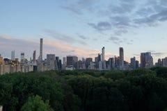 Sonnenuntergang auf der oberen Ostseite 9 Stockfoto