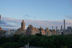 Sonnenuntergang auf der oberen Ostseite 8 Lizenzfreies Stockbild