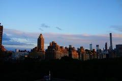 Sonnenuntergang auf der oberen Ostseite 7 Stockfotografie