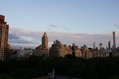 Sonnenuntergang auf der oberen Ostseite 6 Lizenzfreie Stockfotos
