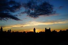 Sonnenuntergang auf der oberen Ostseite 4 Lizenzfreie Stockfotos