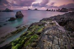 Sonnenuntergang auf Gueirua Lizenzfreie Stockfotos