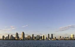 Sonnenuntergang auf San Diego lizenzfreie stockbilder